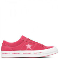 Converse One Star OX Paradise Pink Geranium Suede 159815C Sneakers Shoes