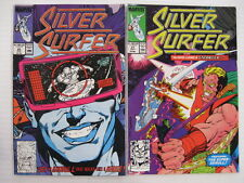*SILVER SURFER #26-71 Annual 1-5 Moebius 1-2 (42 books) Guide $176 Free Shipping