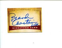 Brandi Chastain US Olympic Gold World Cup Champ Soccer Signed The Autograph Card