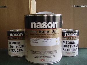 Candy White Nason urethane basecoat clearcoat auto body shop restoration paint