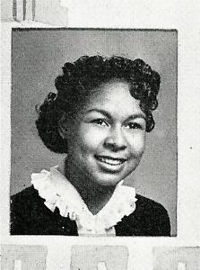 Mrs. JACKIE ROBINSON (RACHEL)  High School Yearbook SENIOR YEAR