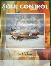 SOUL CONTROL PROMO POSTER  12 X18  CYCLES BRIDGE NINE RECORDS 2009