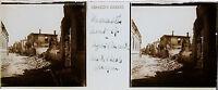 Grecia Macedonia Monastir Stereo 45x107mm Placca Da Lente Positive, Ca 1916