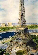 Heller - Eifffelturm Tour Eiffel Modell-Bausatz - 1:650 NEU Tipp OVP Eiffel-Turm