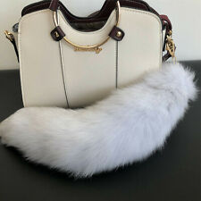 1361c844d2b 100% Real Genuine Fur Tail Keychain Bag Charm Handbag Accessories Cosplay  Toy