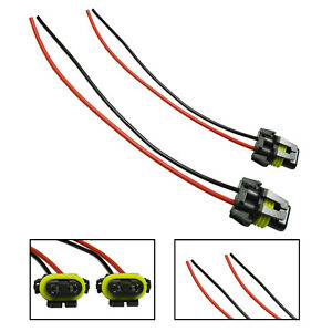 9006 9005 Socket Adapter Wire Harness Extension Plug Connector For Headlight DRL