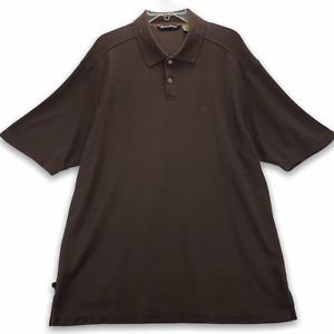 TOMMY BAHAMA Men's Short Sleeve Polo Shirt Size XL Extra Large Brown Marlin Logo