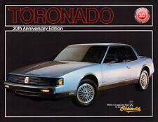 1986 Oldsmobile Toronado coupe, 20th Anniversary Ed, Refrigerator Magnet,40 Mil