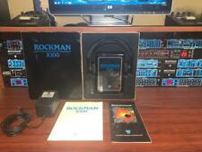 Scholz Rockman X100 REV 10 Headphone Amp w/ Box, Adaptor - EXC - BUY IT NOW!!!