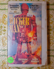 The Wicker Man (VHS, 1994) Rare Horror Cult Movie Christopher Lee Cutbox 70s