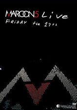 Maroon 5 - Friday The 13th: Live at the Santa Barbara Bowl (DVD, 2005, 2-Disc...