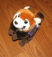 "NWT Wild Republic Red Panda Stuffed Toy 7"" Plush NEW"