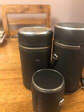 Three Vintage  Camera Lens