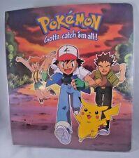 Pokemon Binder Gotta Catch 'Em All 3 Ring Trading Card Game Cards Nintendo 1999