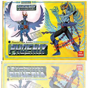 1987 Vintage Saint Seiya Sendo Seya Die-Cast Phoenix Ikki Gold version