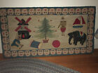 American Pictorial Hooked Rug 1920-1945 Ex Cond $1500 Local P/U 06475