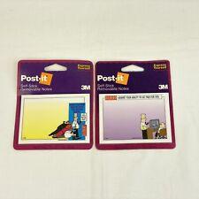 Dilbert Post It 3m Vintage Lot Of 2 40 Sheet Packs 2 78 X 4 Unopened