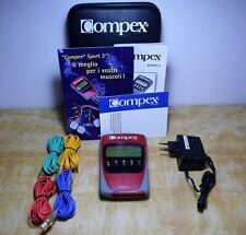 Elettrostimolatore professionale COMPEX SPORT 3 Stimulator