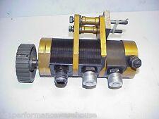 Gambler 3 Stage Dry Sump Oil Pump & Fittings & 28 Tooth Pulley J38 IMCA UMP