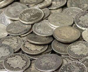 Morgan Silver Dollar US Coin Lot, Circulated, Choose How Many!