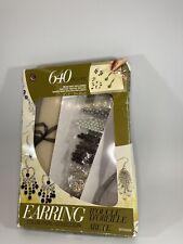 Jewelry Basics Class In A Box Kit Silver Tone Earrings