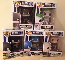 In-Hand Funko POP! Heroes The Dark Knight Batman PX Exclusive Vinyl Figure set