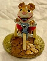 "Wee Forest Folk 1983 M-101 ""Mousey's Tricycle"" Signed ""AP"""