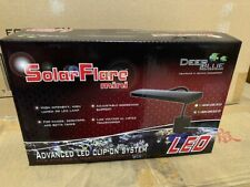 Deep Blue Solar Flare Mini Gooseneck Advanced Clip-On System Led Light (New)