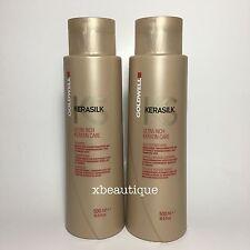 Goldwell Kerasilk Ultra Rich Keratin Shampoo & Daily Intense Mask 500 ml 16.9 oz