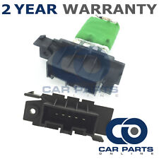 FOR VAUXHALL CORSA 1.2 PETROL (2009-2015) HEATER BLOWER FAN RESISTOR