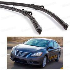 "26"" 14"" Car Windscreen Wiper Blade Bracketless for Nissan Sentra 2013 2014 2015"