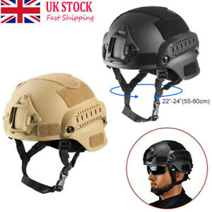 Adjustable Military Tactical Protective Fast Helmet Airsoft Paintball Outdoor