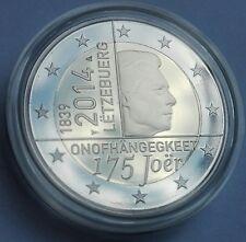 Gedenkmünze/ Commemorative Coin/ Luxemburg 2014 PP/ Proof 175 Jahre/ Years