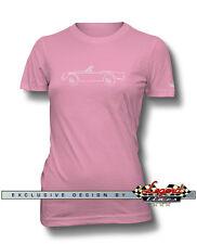 Triumph TR4 TR5 Convertible T-Shirt for Women - Multiple Colors Sizes - British