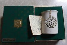 New ListingLenox China Snowflake Candle Lamp in original box