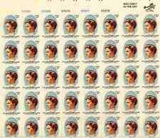 Scott #1699. 13 Cent. Clara Maass . Sheet of 40