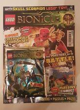 Lego Bionicle Magazine - Issue 1 with Skull Scorpion Toy - New/Sealed