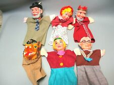 Vintage Mr. Rogers Neighborhood Hand Puppets Lot of 6