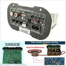 30W High Power Subwoofer Hi-Fi Bluetooth Decoder Board Motorcycle Car Amplifier