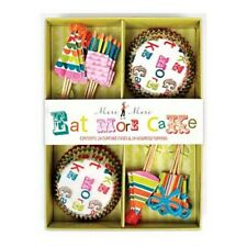 Pirottini con pick per cupcake tema party 24 pz Meri Meri