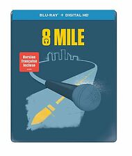 8 Mile Iconic Art SteelBook [Blu-ray + Digital HD, Eminem, Region A, 1-Disc] NEW