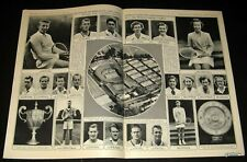 Wimbledon 1954 Courts & Competitors Pictorial Jaroslav Drobny & Maureen Connolly