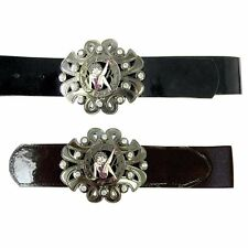 Betty Boop Charm Belt With Austrian Crystals