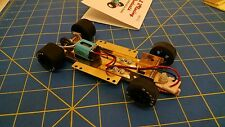 H&R CH12 Hard Body RTR Chassis Silicone Tires 1/24 Slot Car from Mid America