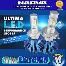 Narva H1 LED Headlight Performance Globes Ultima HIGH LOW Replace Xenon 18001