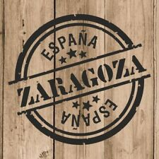 Vinilo de Corte Zaragoza Pegatina Zaragoza España 10 cm Adhesivo Pared Tablet