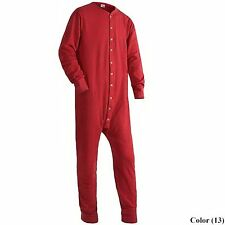 Duofold by Champion Men's Red Union Suit Size Medium