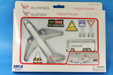 Brand New Virgin Australia Plane & Airport Toy Play Set  Die Cast RT 0301