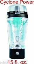 Cyclone Power Drink Mixer Protein Shaker 15oz Hand Held Tornado Blender Mug New