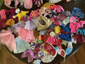 HUGE Lot Over 300 Items Vintage Barbie Clothing Shoes Accessories 80s 90s